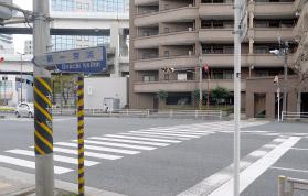 横浜の弁護士 神奈川駅からの道順3
