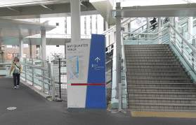 横浜の弁護士 横浜駅からの道順2