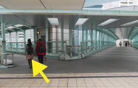 横浜の弁護士 横浜駅からの道順6