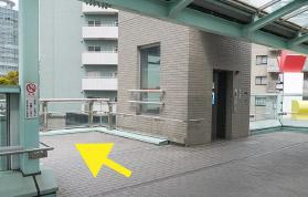 横浜の弁護士 横浜駅からの道順8
